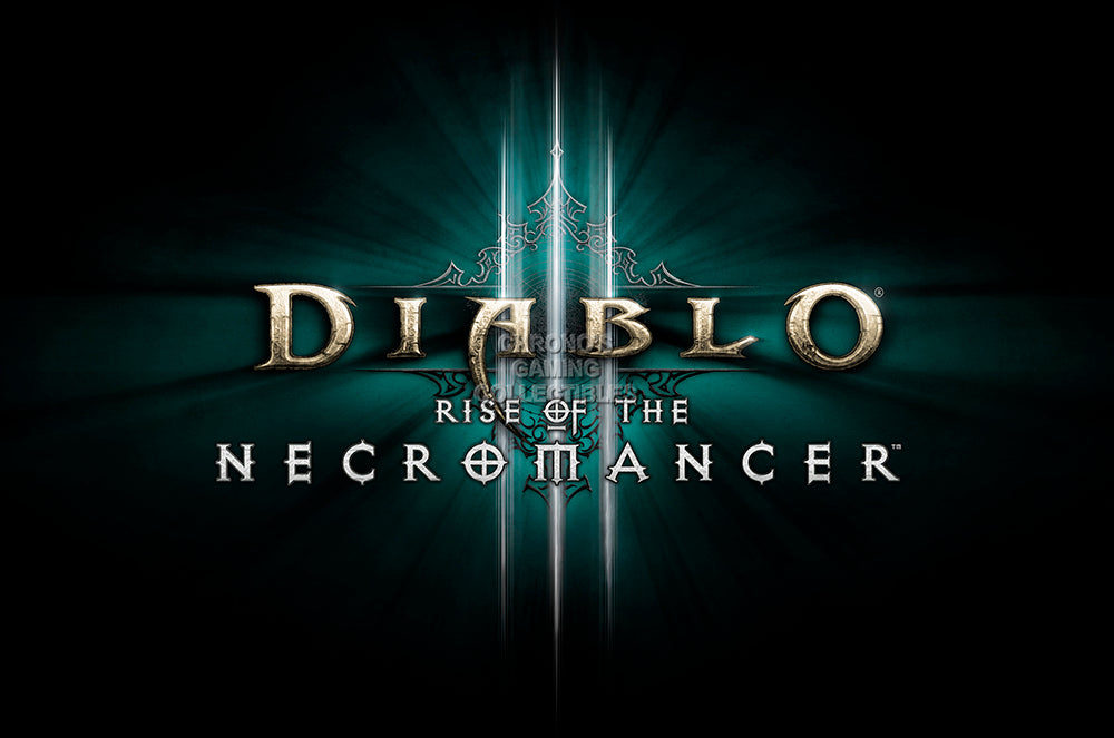 CGC Huge Poster GLOSSY FINISH - Diablo III Necromancer PC - EXT945