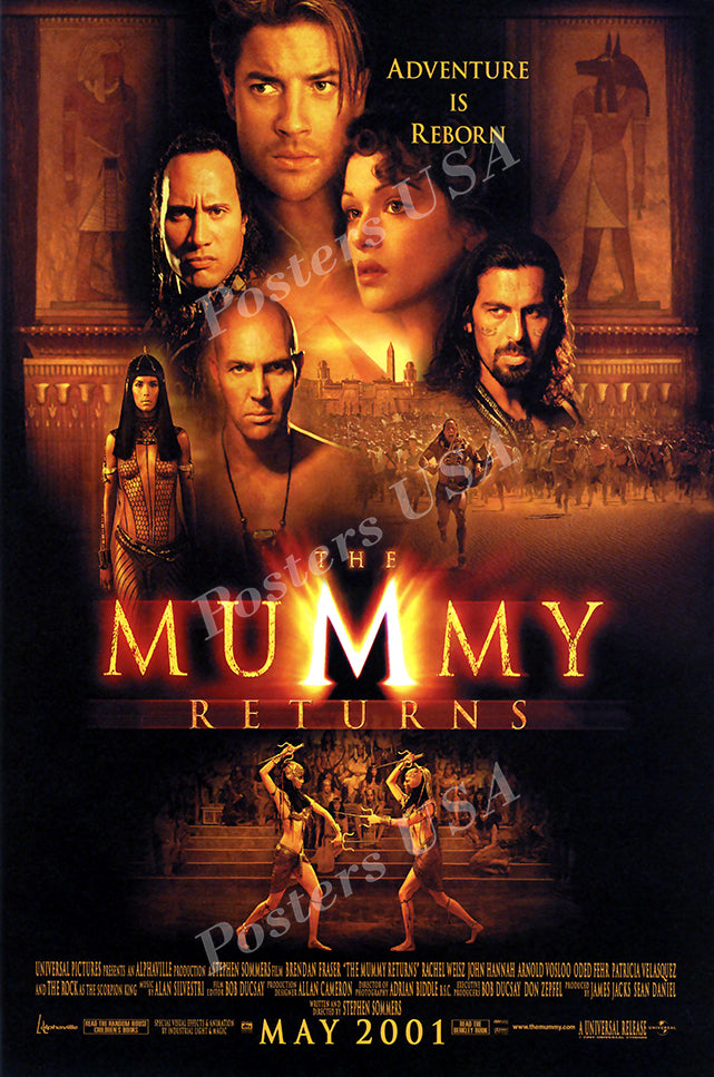 Posters USA - The Mummy Returns Movie Poster GLOSSY FINISH - MOV363