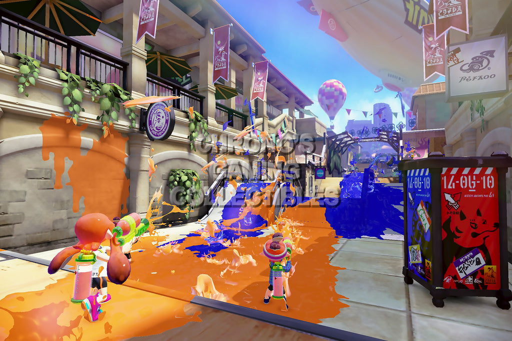 CGC Huge Poster - Splatoon - Wii U - SPA007
