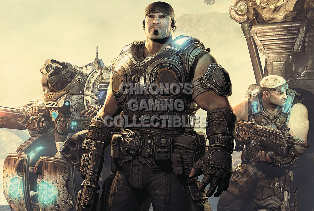 CGC Huge Poster - Gears of War 3 XBOX 360  - GAS011