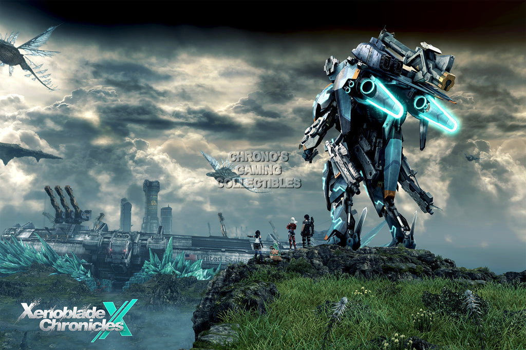 CGC Huge Poster - Xenoblade Chronicles X Nintendo Wii U 3DS - EXT187