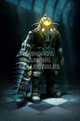 CGC Huge Poster - Bioshock 2 PS3 XBOX360 - Subject Delta - BIO004
