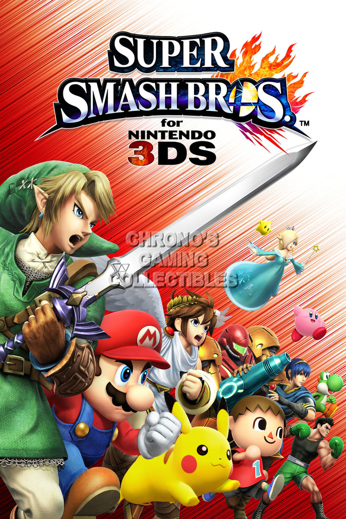 CGC Huge Poster - Super Smash Bros. Wii U 3DS  - SMA004
