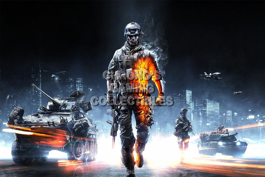 CGC Huge Poster - Battlefield 3 - PS3 XBOX 360 PC - BAF003