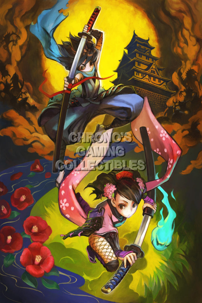 CGC Huge Poster - Muramasa The Demon Blade Kongiku Nintendo Wii U Playstation Vita - MUR013