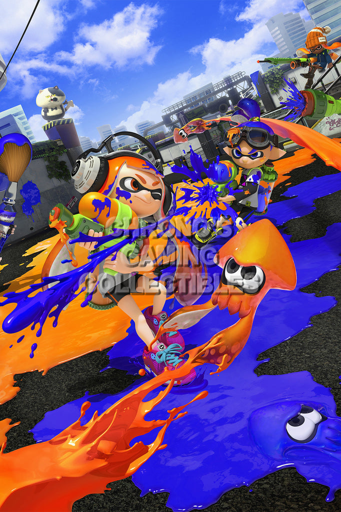 CGC Huge Poster - Splatoon - Wii U - SPA003