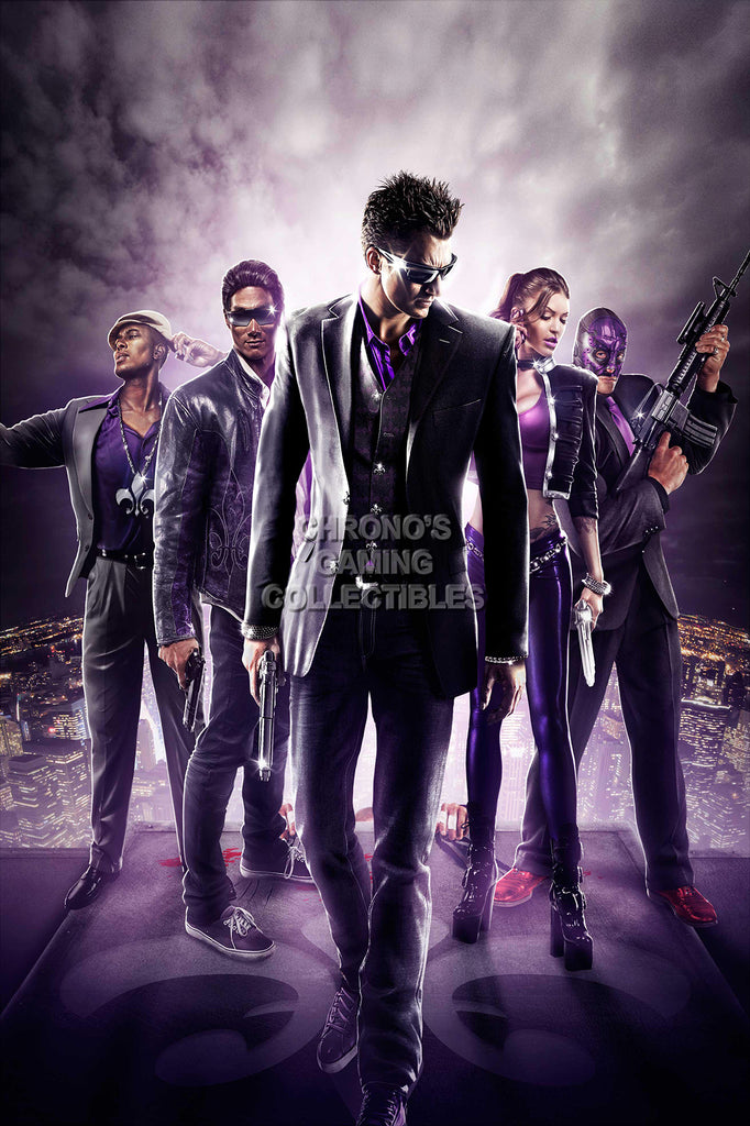 CGC Huge Poster - Saints Row 3 The Third PS3 XBOX 360 PC - SSR006
