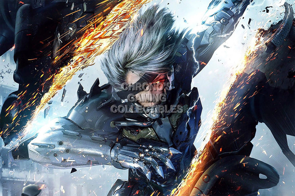 CGC Huge Poster - Metal Gear Rising Revengeance PS3 XBOX 360 - MGR004