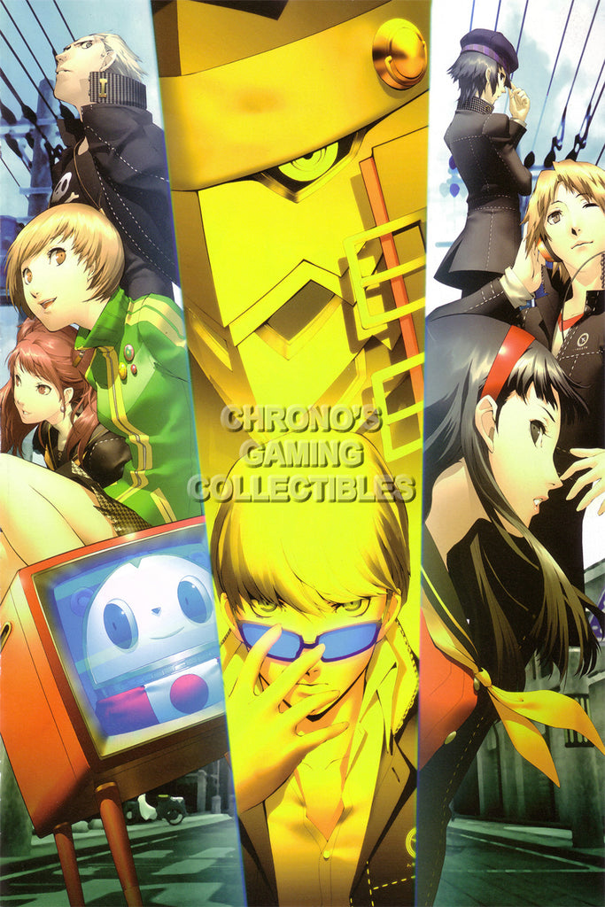 CGC Huge Poster - Persona 4 PS2 Playstation Vita - PER416