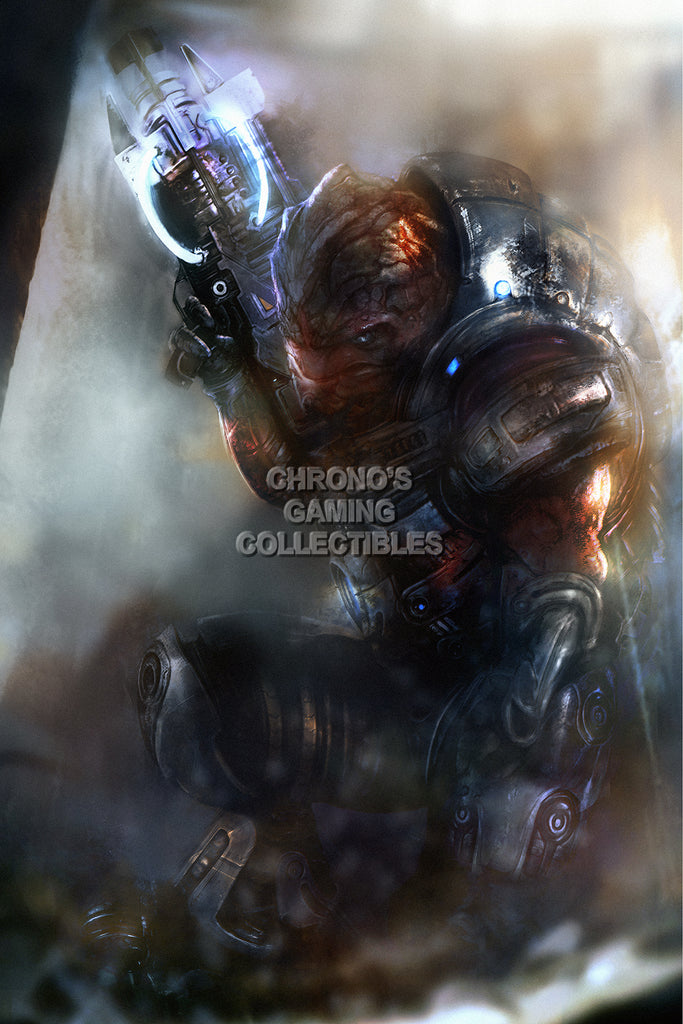CGC Huge Poster - Mass Effect 3 Grunt PS3 XBOX 360 PC - MAS038