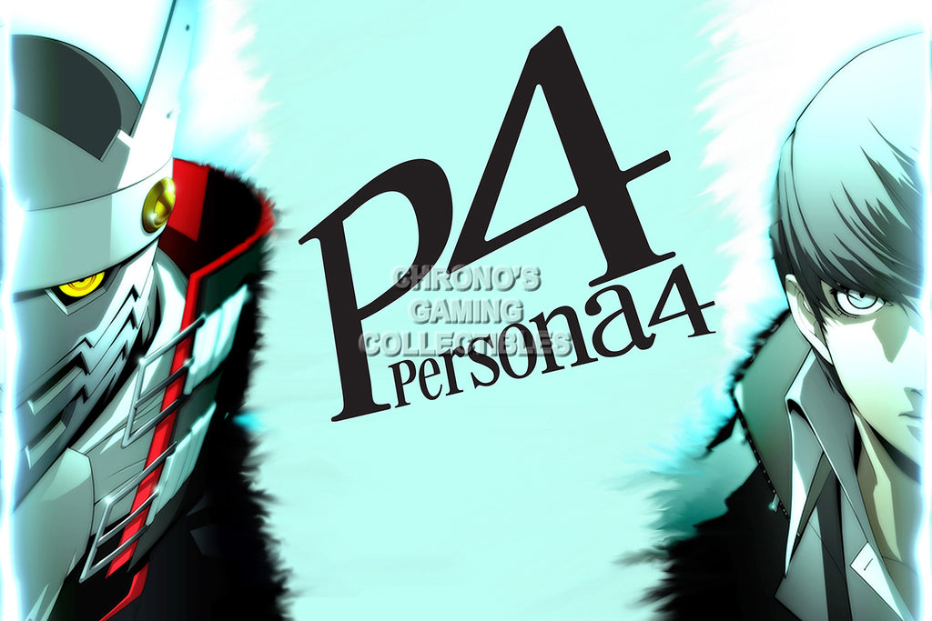 CGC Huge Poster - Persona 4 PS2 Playstation Vita - PER405