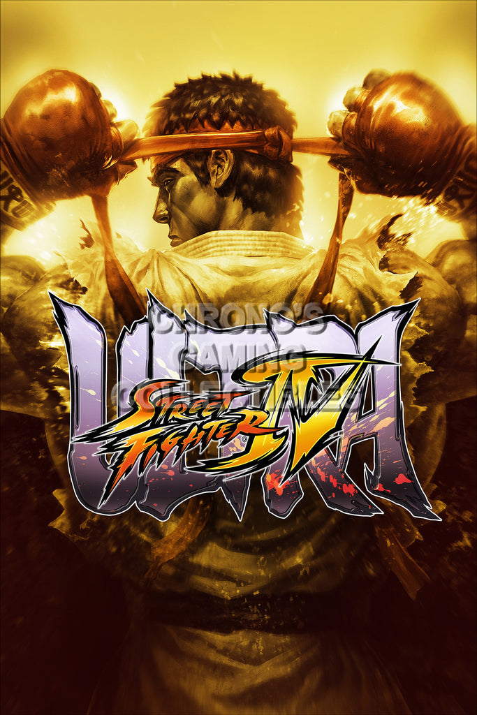 CGC Huge Poster - Street Fighter IV   Ultra- STR005