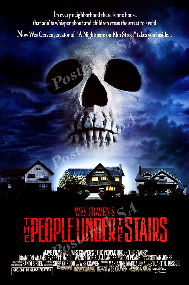 Posters USA - The People Under the Stairs GLOSSY FINISH Movie Poster- FIL972