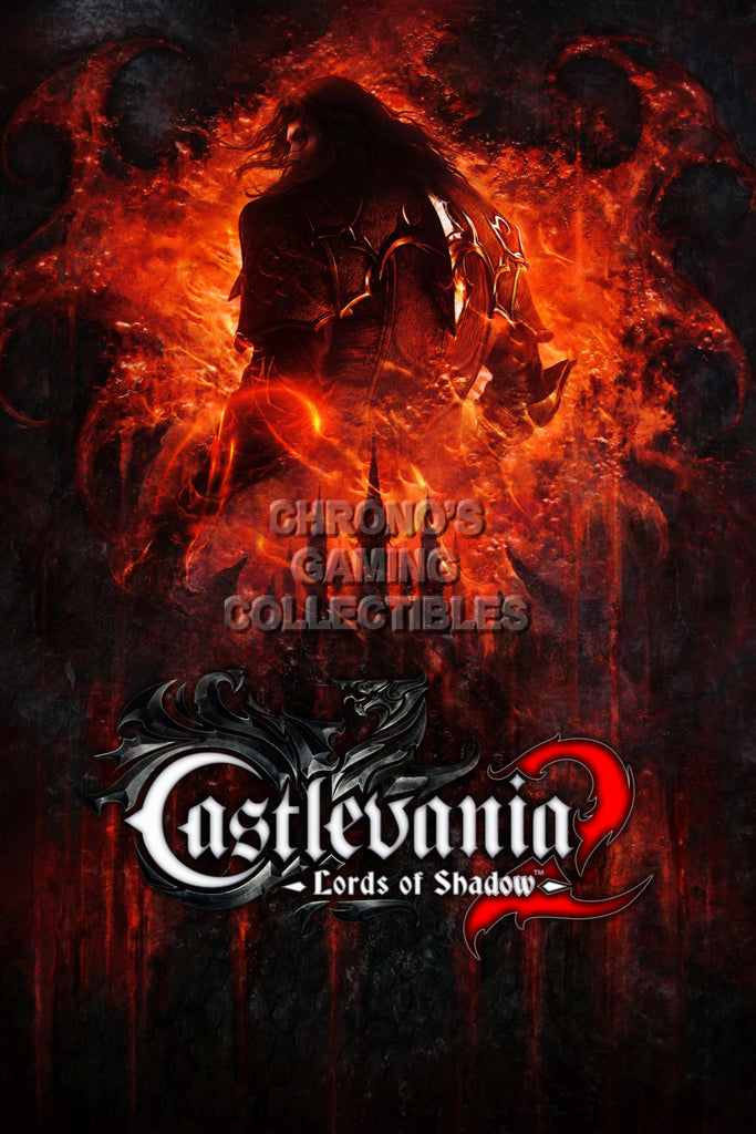 CGC Huge Poster - Castlevania Lord of Shadows Sony PS3 XBOX 360 Nintendo DS - CAS014