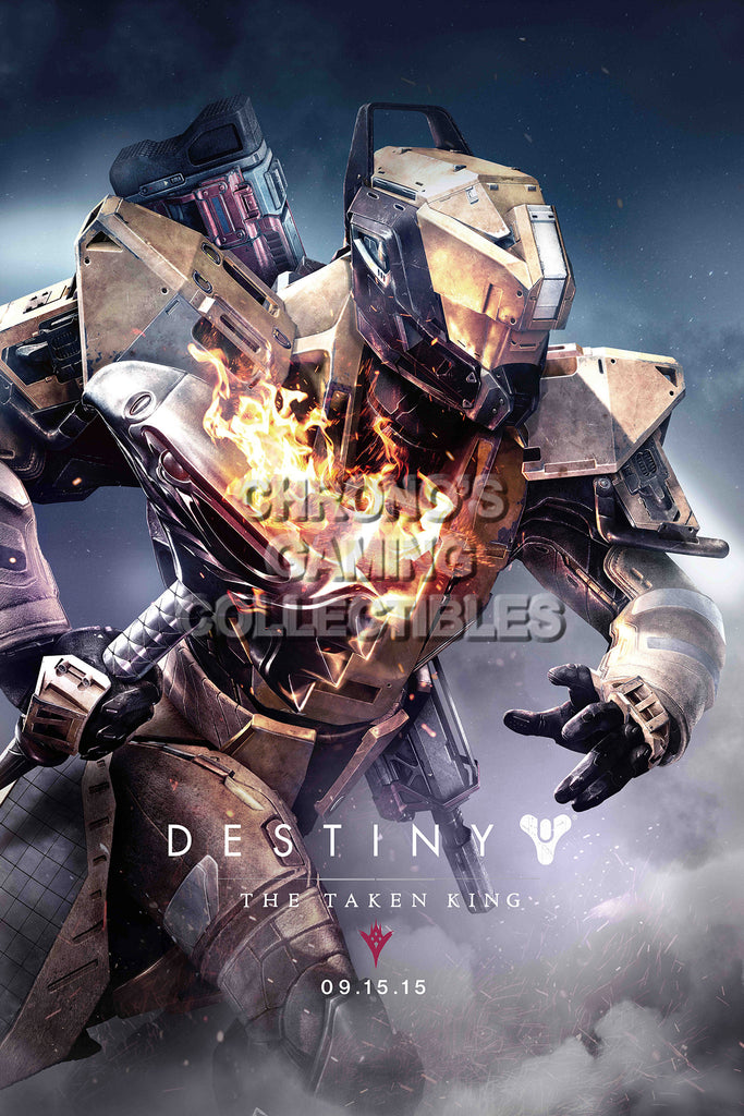 CGC Huge Poster - Destiny The Taken King Titan - PS3 PS4 XBOX 360 One - DES046