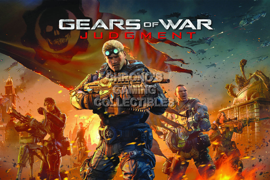 CGC Huge Poster - Gears of War Judgement XBOX 360 - GAS026