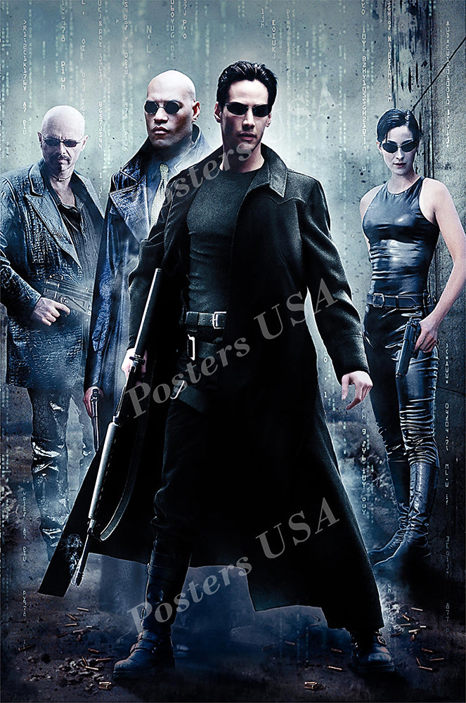 Posters USA - Enter The Matrix Movie Poster GLOSSY FINISH - MOV120