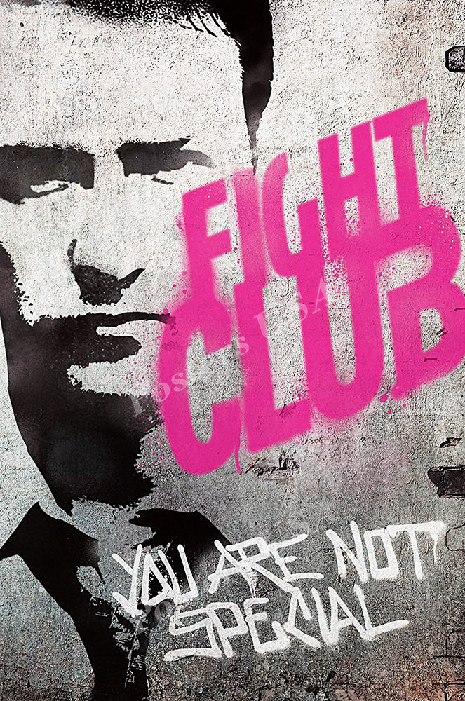 Posters USA - Fight Club Movie Poster GLOSSY FINISH - MOV099