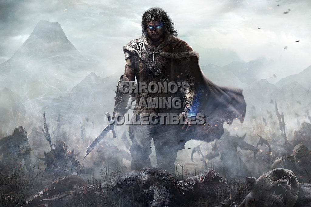 CGC Huge Poster - Shadow of Mordor - PS3 PS4 XBOX 360 ONE - SOM014