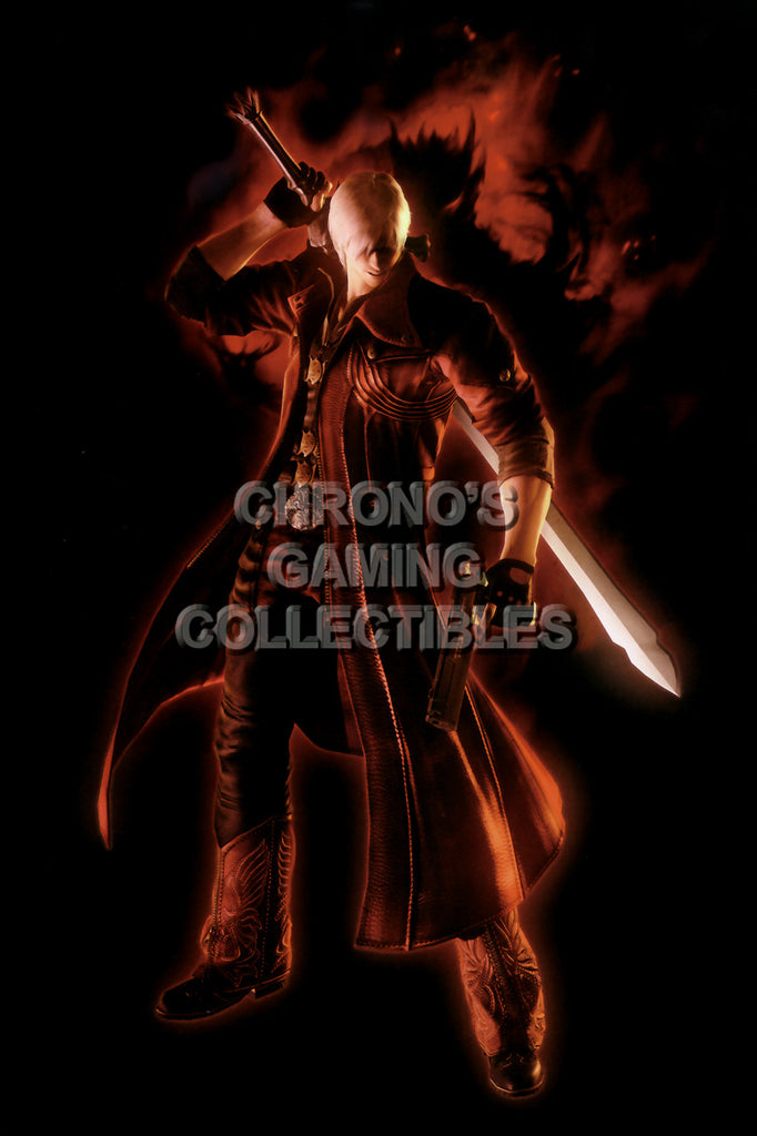 CGC Huge Poster - Devil May Cry - PS2 PS3 XBox 360 - DMC012