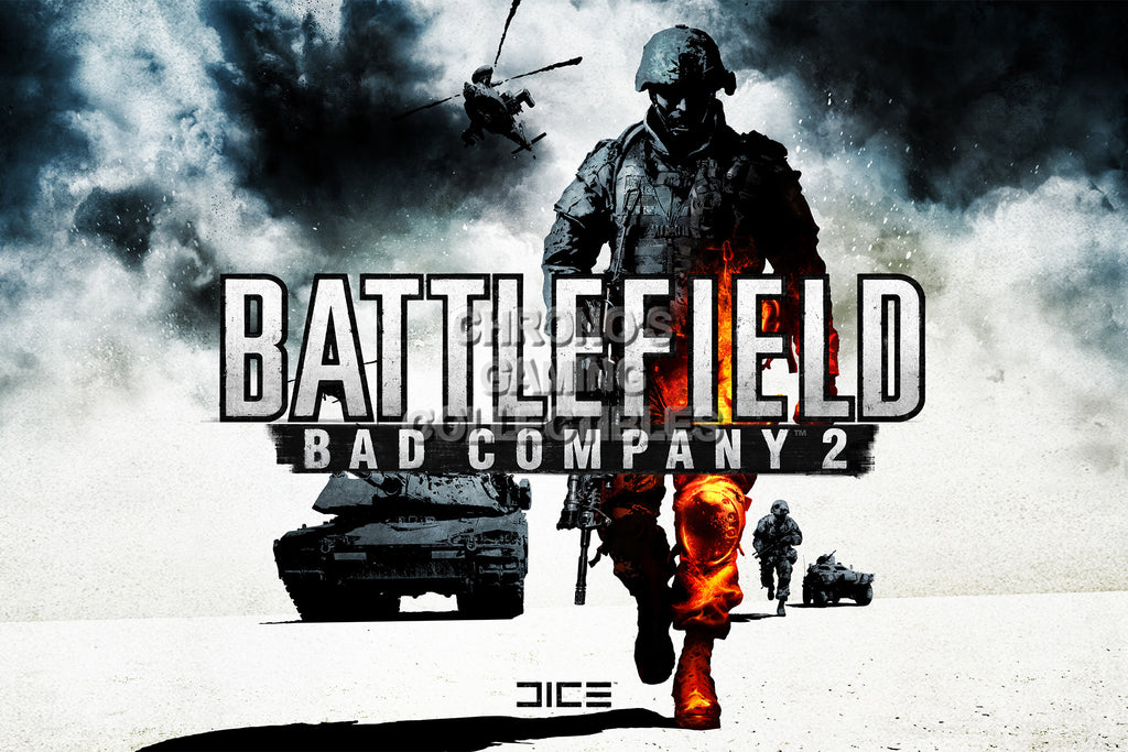 CGC Huge Poster - Battlefield Bad Company 2 PS3 XBOX 360 - BAF024