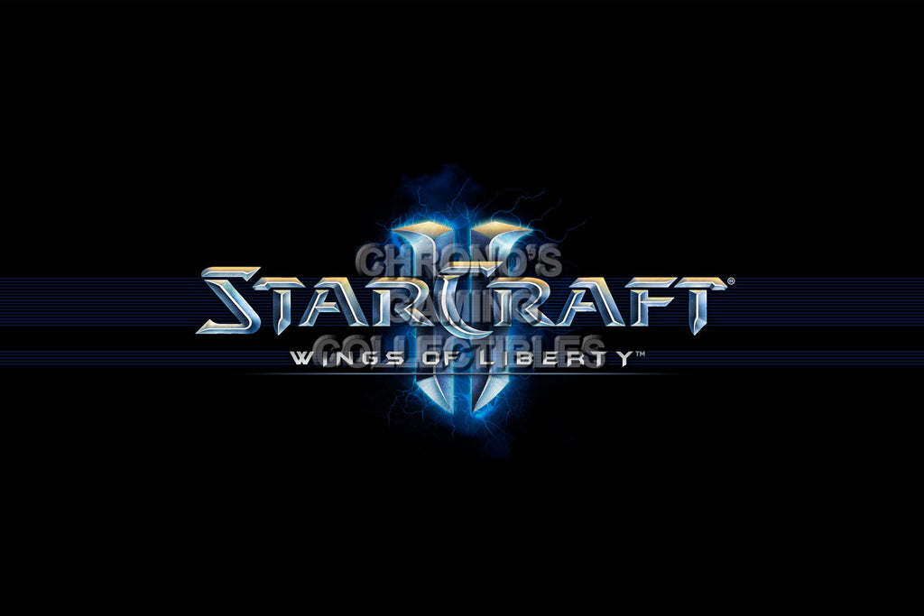 CGC Huge Poster - Starcraft II Wings of Liberty - Logo - STC020