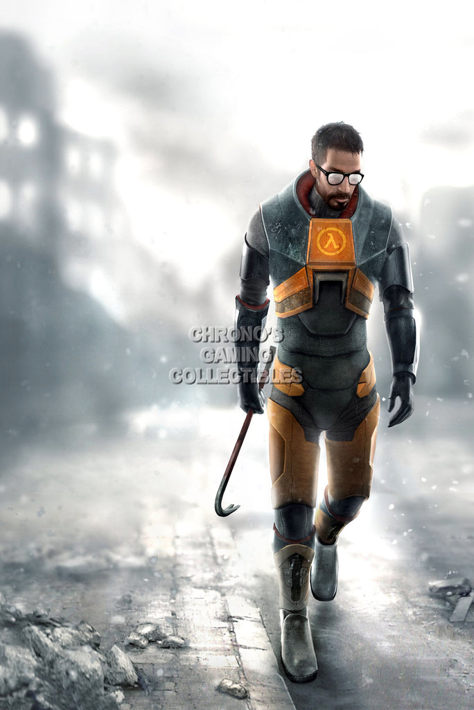CGC Huge Poster - Half Life 2 Gordon Freeman - PS3 XBOX 360 PC - HLI005