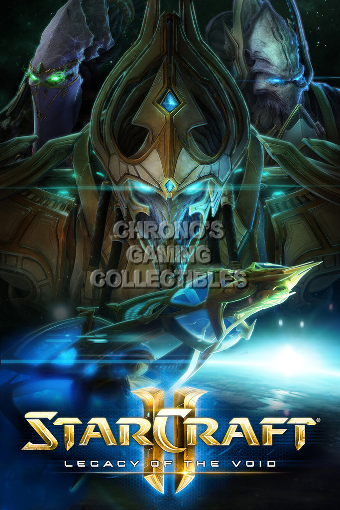 CGC Huge Poster - Starcraft II Legacy of the Void - STC014