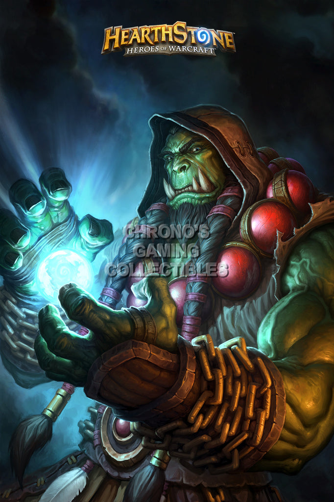 CGC Huge Poster - Hearthstone Heroes of Warcraft Shaman - HEA008