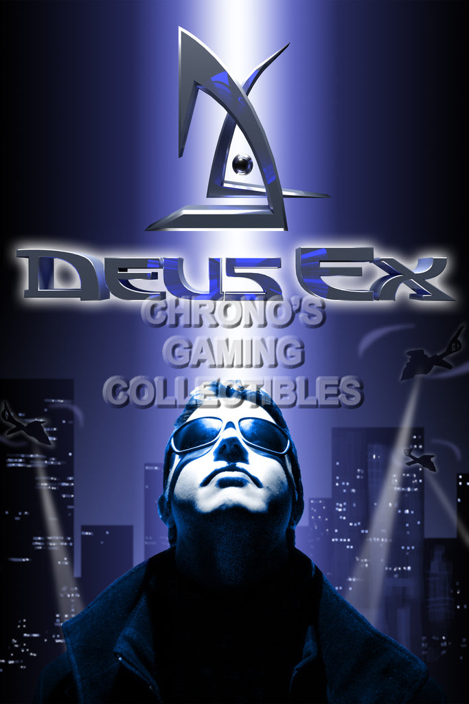 CGC Huge Poster - Deus Ex Original - PS3 PS4 XBOX 360 ONE - DEU012
