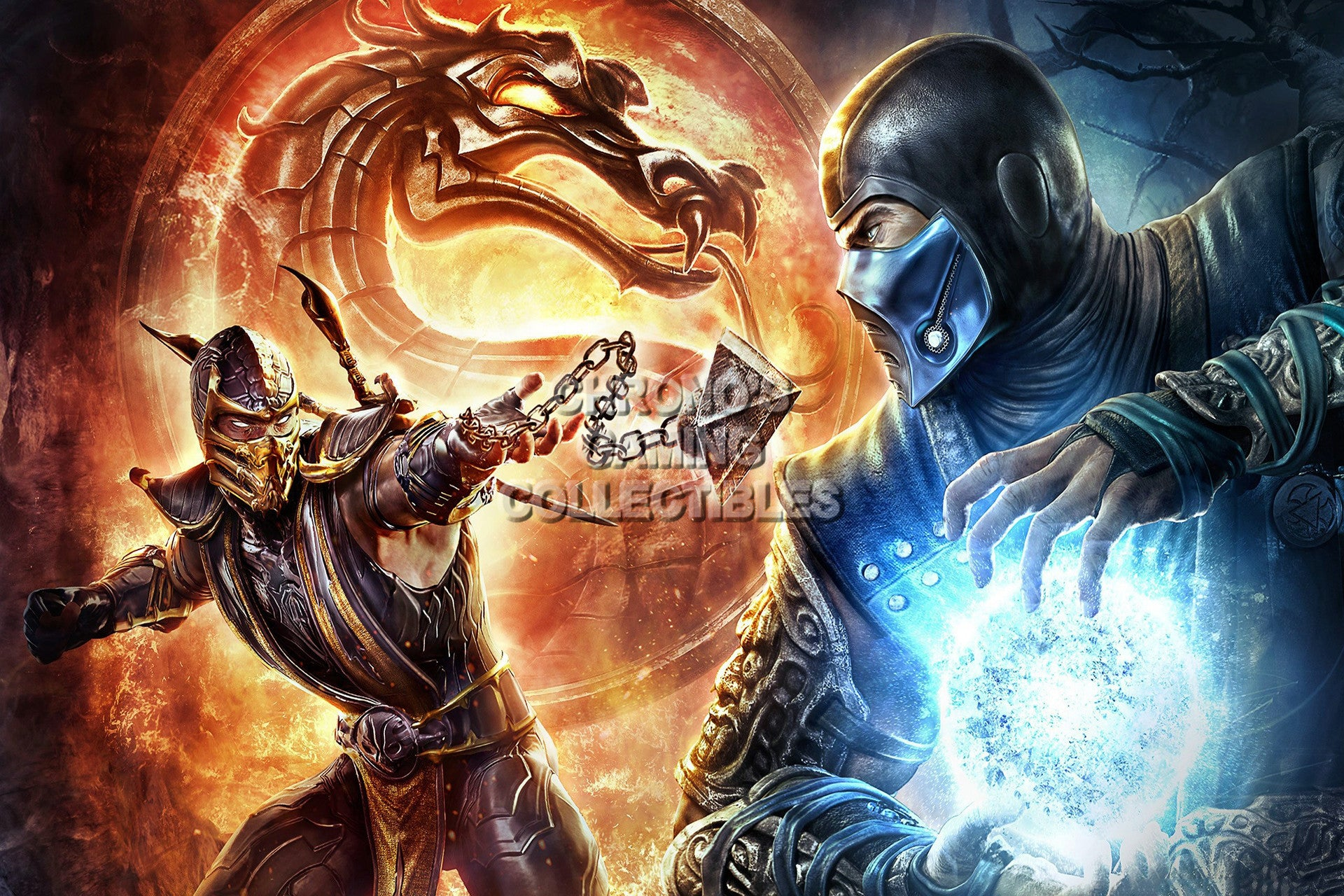 Mortal Kombat X Video Games Poster Cgcposters