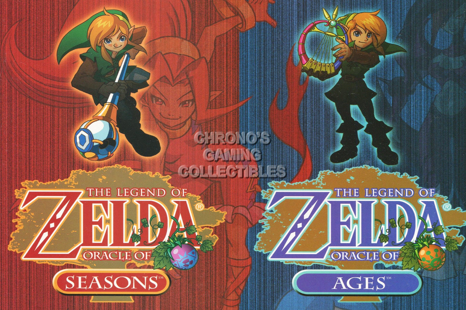 CGC Huge Poster - The Legend of Zelda Oracle of Ages Season Nintendo GBC -  ZEL002