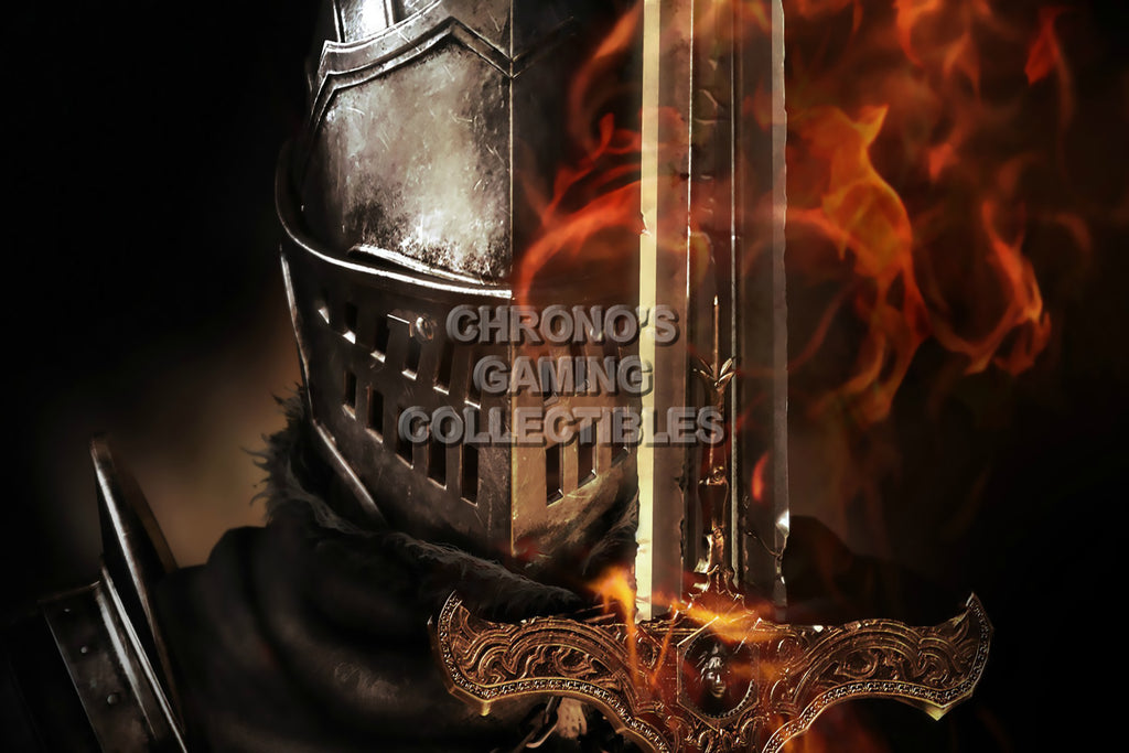 CGC Huge Poster - Dark Souls PS3 XBOX 360 - DSS011