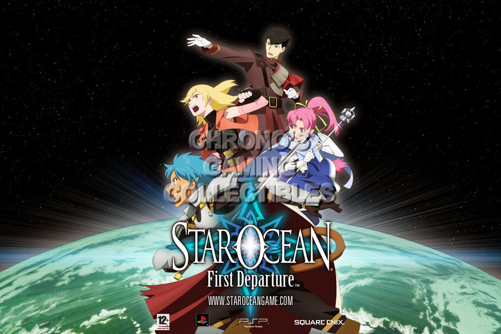 CGC Huge Poster - Star Ocean First Departure PS1 PS2 PS3 PSP - STAR05
