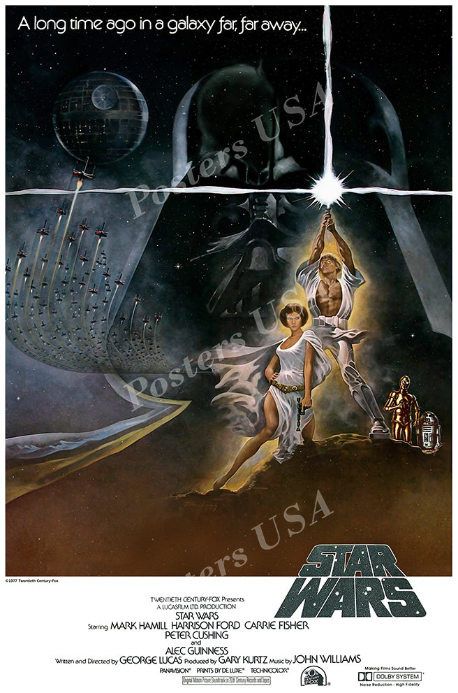 Posters USA - Star Wars Original Episode IV A New Hope Movie Poster GLOSSY FINISH   - FIL331
