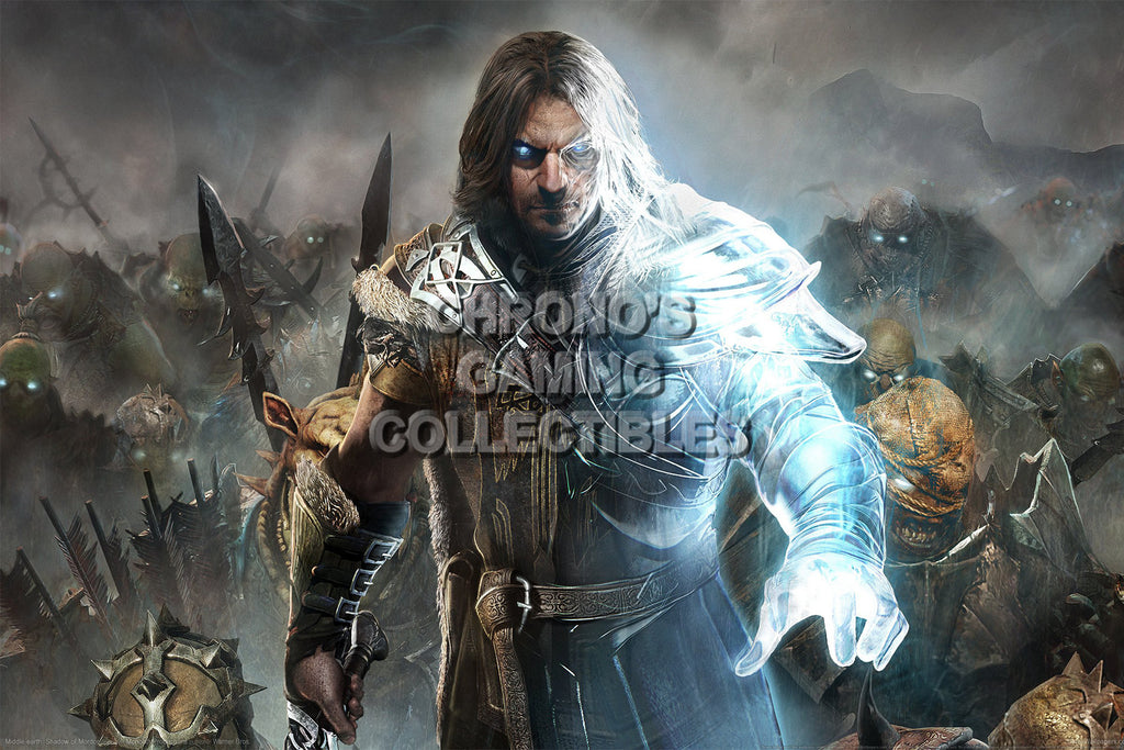 CGC Huge Poster - Shadow of Mordor - PS3 PS4 XBOX 360 ONE - SOM003