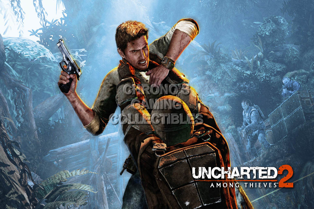CGC Huge Poster - Uncharted 2 Among Thieves - PS3 - UCH006
