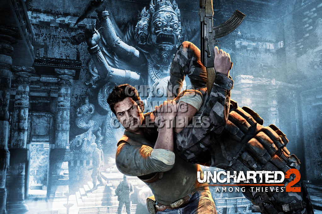 CGC Huge Poster - Uncharted 2 Among Thieves - PS3 - UCH005