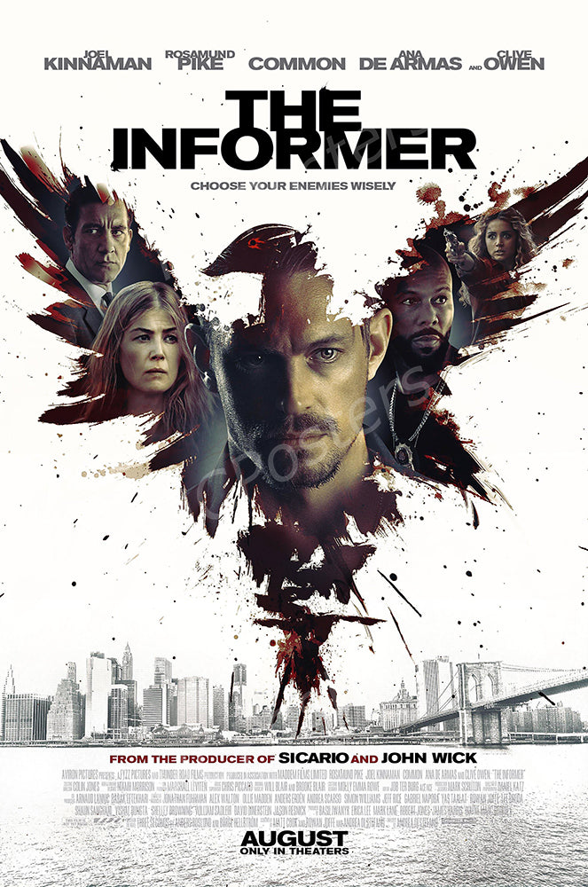 MCPosters - The Informer GLOSSY FINISH Movie Poster - MCP920