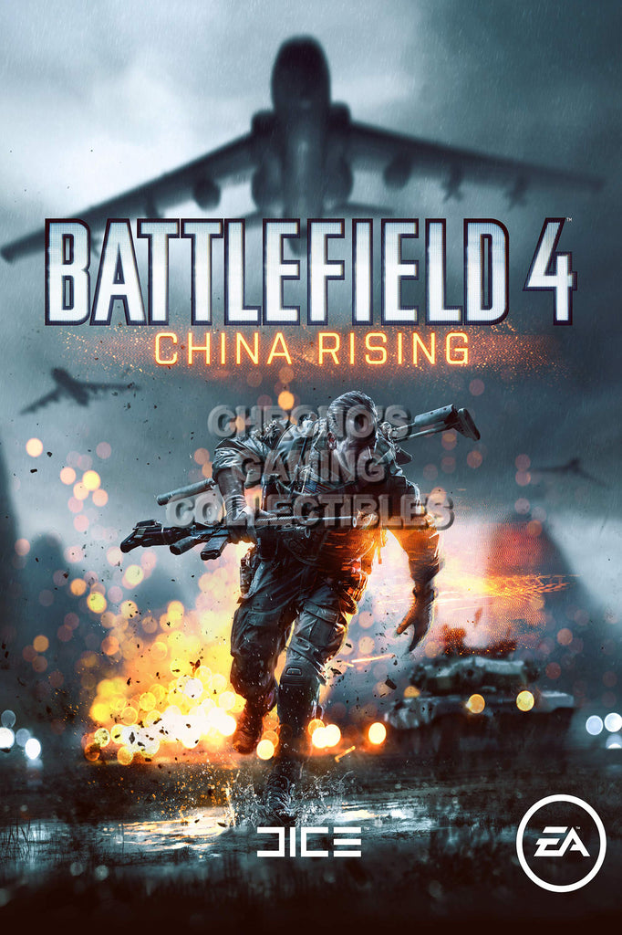 CGC Huge Poster - Battlefield 4 China Rising PS3 PS4 XBOX 360 ONE - BAF015