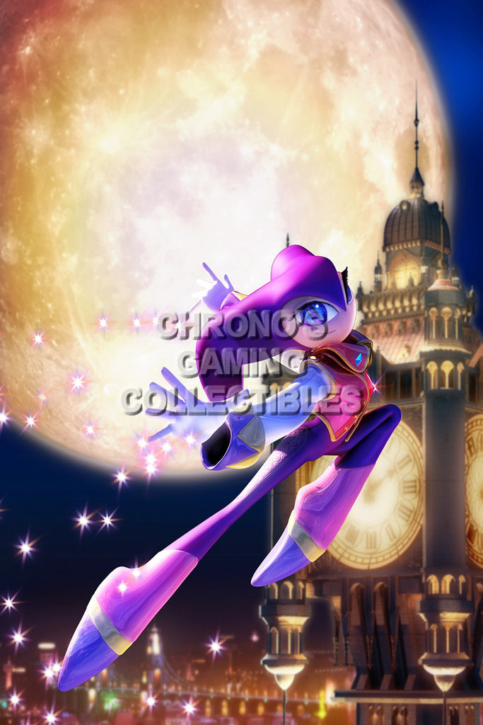 CGC Huge Poster - Nights into Dreams Sega Saturn - SST010