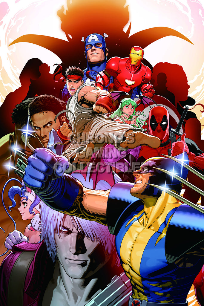 CGC Huge Poster - Marvel vs Capcom 3 Ultimate PS3 XBOX 360 - MVC013