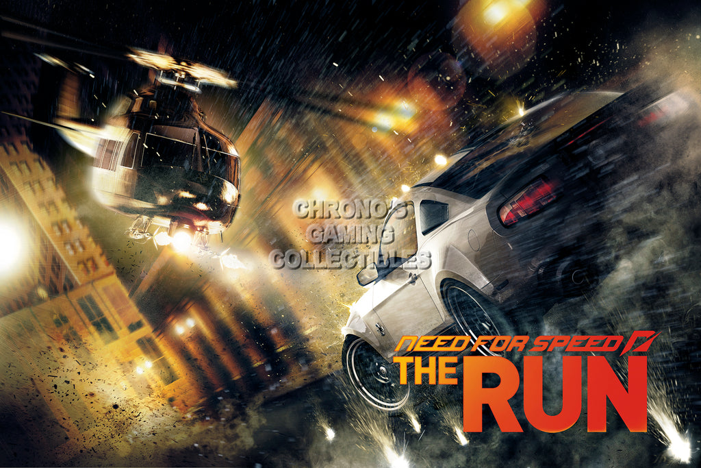 CGC Huge Poster - Need for Speed The Run PS3 XBOX 360 - NFS005