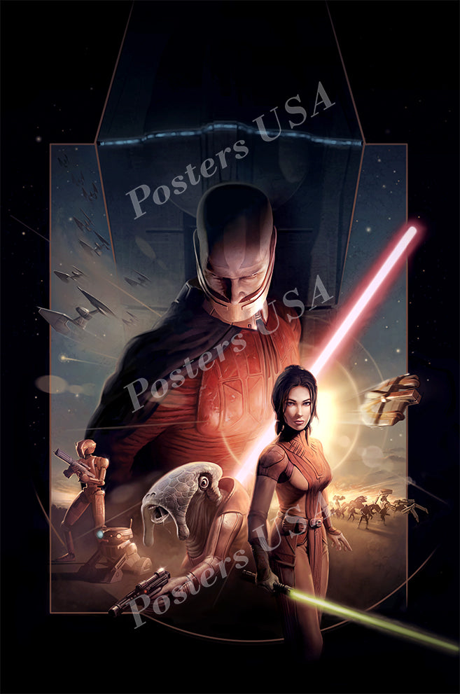 Posters USA - Star Wars The Old Republic Textless Movie Poster GLOSSY FINISH - FIL203