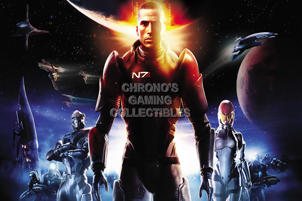 CGC Huge Poster - Mass Effect PS3 XBOX 360 PC - MAS029