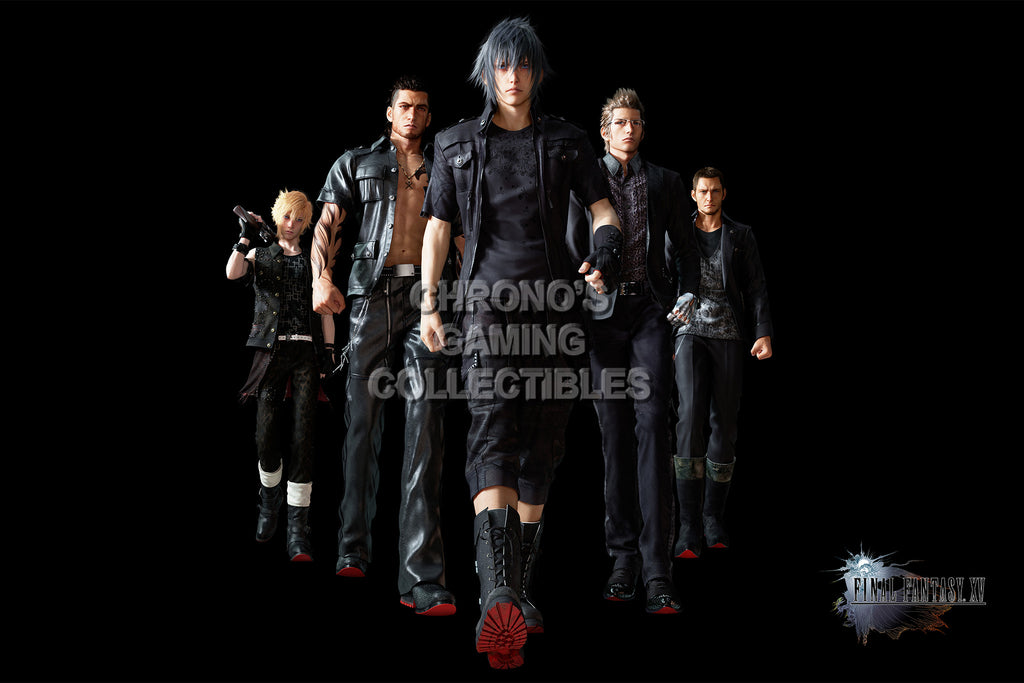 CGC Huge Poster - Final Fantasy XV - Characters - FFXV002