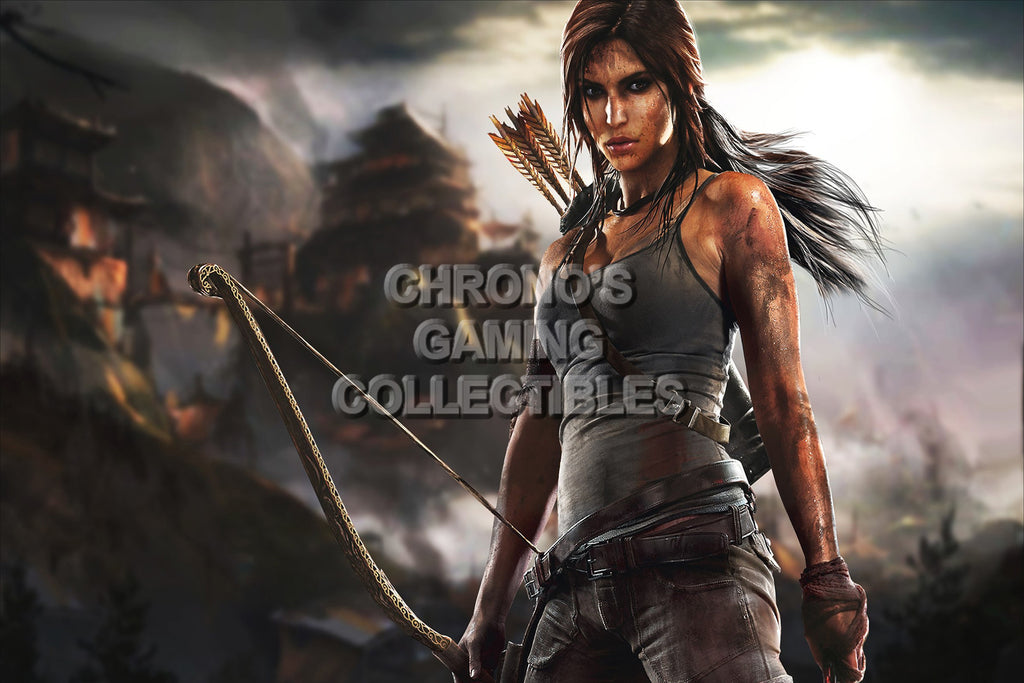 CGC Huge Poster - Tomb Raider - PS3 PS4 XBOX 360 ONE - TOM006