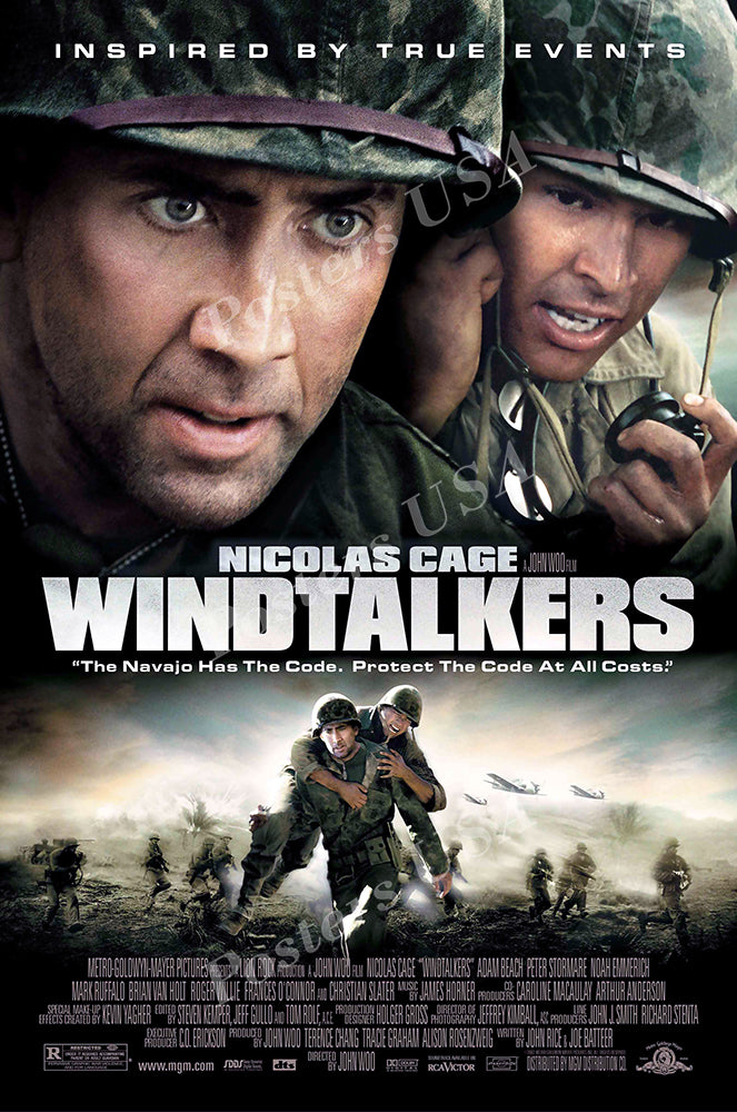 Posters USA - Windtalkers Movie Poster GLOSSY FINISH - MOV997