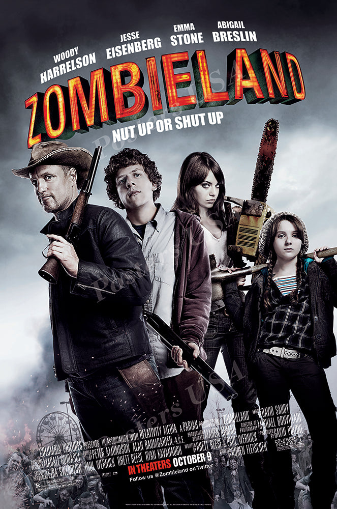 Posters USA - Zombieland GLOSSY FINISH Movie Poster - FIL976
