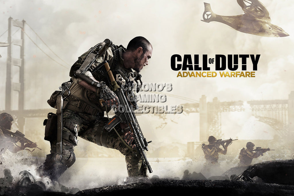 CGC Huge Poster - Call of Duty Advanced Warfare COD PS3 PS4 XBOX 360 One - COD001